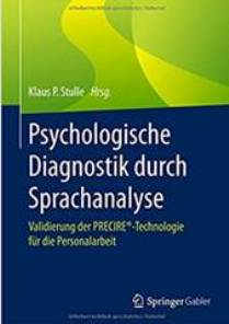 Buch Psychologische Diagnostik Psychologische-Diagnostik-durch-Sprachanalyse